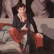 Ella, 2004, oil on canvas, 1.7m x 1.5m