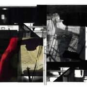 Subliminal Series 11, 2011, photographic collage, 30 x 60cm