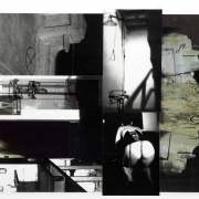 Subliminal Series 13, 2011, photographic collage, 30 x 60cm