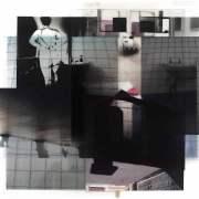Subliminal Series 4, 2011, photographic collage, 30cm x 30cm