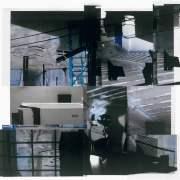 Subliminal Series 5, 2011, photographic collage, 30cm x 30cm